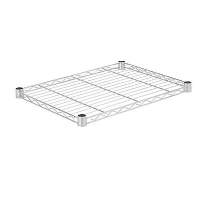 Honey Can Do Steel Shelf - 350 lb chrome 18x24, chrome ( SHF350C1824 )