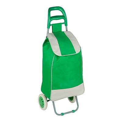 Honey Can Do R92022 - rolling knapsack bag cart, green/grey ( CRT-03569 )