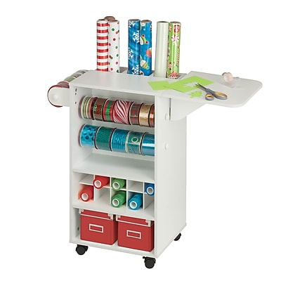 Honey Can Do rolling craft storage cart, white ( CRT-06343 )