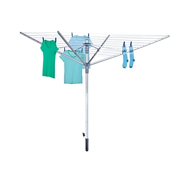 Honey Can Do outdoor umbrella dryer - 192ft 12 lines, silver ( DRY-04252 )