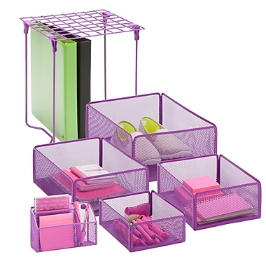 Honey Can Do Back to School kit 7, Purple