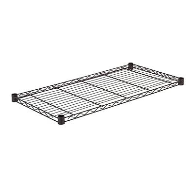 Honey Can Do Steel Shelf-350lb black 18x36, black ( SHF350B1836 )