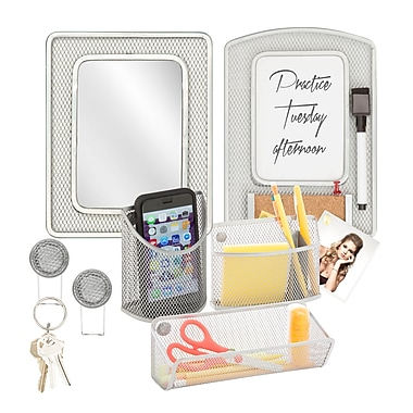 Honey Can Do Back to School kit 8, Silver