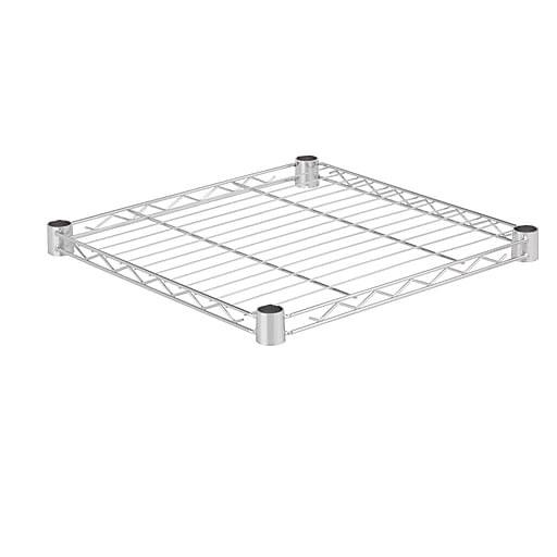 Honey Can Do Steel Shelf-350lb chrome 18x18, chrome ( SHF350C1818 )
