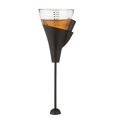 Honey Can Do Gravity Release Jigger™, Clear/Black ( KCH-06163 )