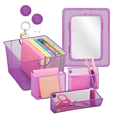 Honey Can Do Back to School kit 6, Purple