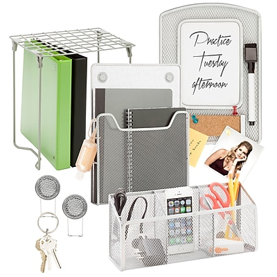 Honey Can Do Back to school kit 2, Silver