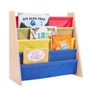 Honey Can Do book rack primary, primary / natural ( SHF-05077 )