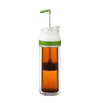 Honey Can Do 13.5oz single french press, green ( KCH-06530 )
