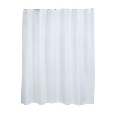 Honey Can Do Fabric Shower Curtain Liner , White ( BTH-03293 )