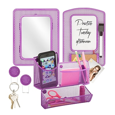 Honey Can Do Back to School kit 8, Purple