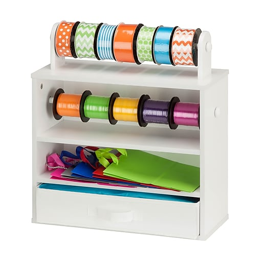Honey Can Do craft storage, white