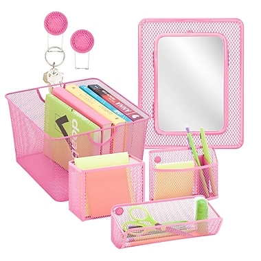 Honey Can Do Back to School kit 6, Hot Pink ( BTSX06778 )