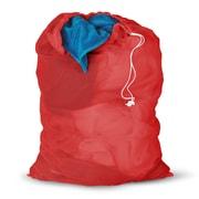 Honey Can Do 2 Pieces Mesh Laundry Bag, red ( LBGZ01162 )