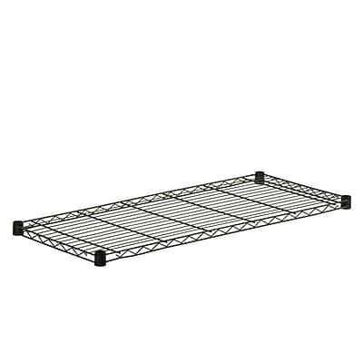 Honey Can Do Steel Shelf-250lb black 18 x 42, black ( SHF250B1842 )