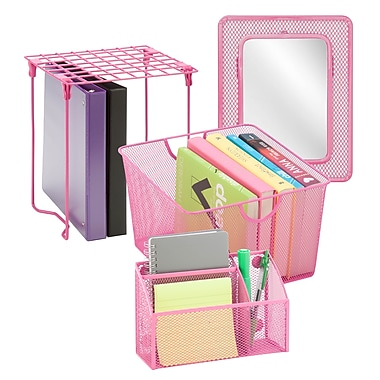 Honey Can Do Back to school kit 1, Hot pink