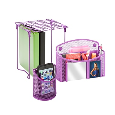 Honey Can Do Back to School kit 3, Purple ( BTSX06767 )