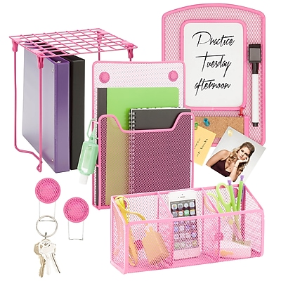 Honey Can Do Back to school kit 2, Hot Pink