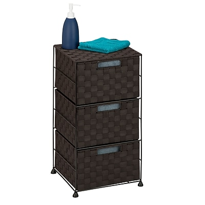 Honey Can Do 3 Drawer Chest , espresso ( OFC-03714 )