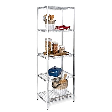 Honey Can Do 5-tier shelving unit, 24