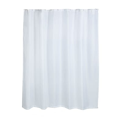 Honey Can Do Luxury SPA Fabric Shower Curtain, white ( BTH-03093 )
