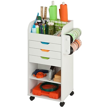 Honey Can Do craft storage, white ( CRT-06346 )