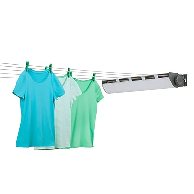 Honey Can Do 5 line Extendable Clothing Rack, powder coating ( DRY-03113 )