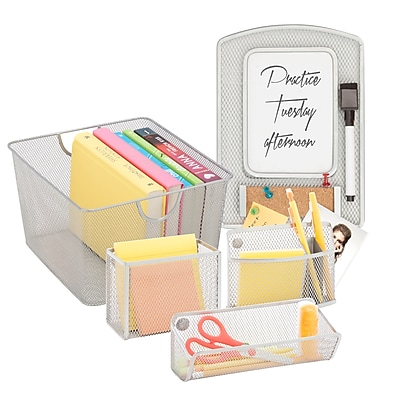 Honey Can Do Back to School kit 5, Silver