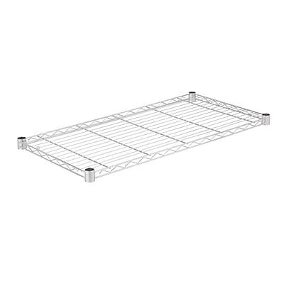 Honey Can Do Steel Shelf-350lb chrome 18x36, chrome ( SHF350C1836 )