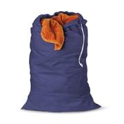 Honey Can Do 2pk Jersey Cotton Laundry Bag, blue ( LBGZ01141 )