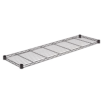 Honey Can Do Steel Shelf - 350 lb black 14x48, black ( SHF350B1448 )