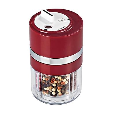 Honey Can Do Dial-a-Spice™, red/chrome ( KCHZ06113-02 )