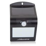 Maxxima LED Solar Outdoor Wall Light, Front and Rear LEDs w Dusk To Dawn and Motion Sensor