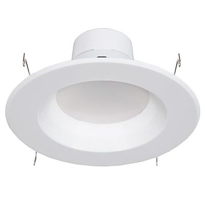 Maxxima 5 in. and 6 in. Dimmable LED Retrofit Downlight 4000K Neutral White, 900 Lumens 23981139