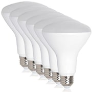 Maxxima Dimmable BR30 LED 8 Watt Warm White 720 Lumens 65 Watt Equiv (Pack of 6)