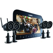 "Lorex Lw2744b Wireless 4-channel Surveillance System With 7"" Touchscreen & 4 Wireless Cameras"