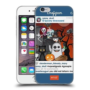 Official Emoji Halloween Parodies Squad Goals Soft Gel Case For Apple Iphone 6 / 6S