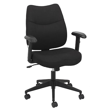 Barcalounger Office Furniture Fabric Executive Task Chair Black (80284M-MA)