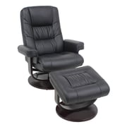 Cathedra Recliner with Ottoman