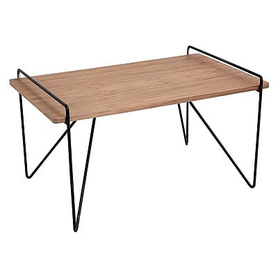 Lumisource Loft Coffee Table in Walnut & Black (TBC-LOFT WL+BK)