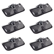6 Pack Carson Cf-10 1.5x Clip-on, Flip-up Magnifying Lenses For Eyeglasses