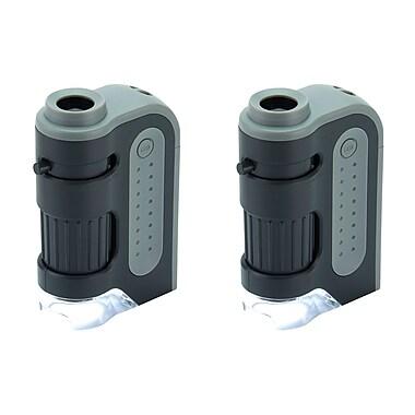 Carson Mm-300 Microbrite Plus 60x-120x Led Pocket Microscope (KITCSNMM3002PK)