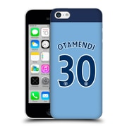 Official Manchester City Man City Fc Player Home Kit 2016/17 Group 1 Otamendi Hard Back Case For Apple Iphone 5C