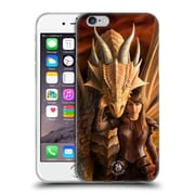 Official Anne Stokes Dragons 2 Inner Strenght Soft Gel Case For Apple Iphone 6 / 6S