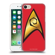 Official Star Trek Uniforms And Badges Tos Operations Solo Hard Back Case For Apple Iphone 7