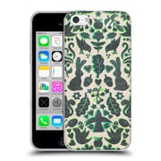 Official Micklyn Le Feuvre Animals Two Rabbits Folk Art Pattern Soft Gel Case For Apple Iphone 5C