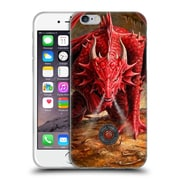 Official Anne Stokes Dragons Lair Soft Gel Case For Apple Iphone 6 / 6S