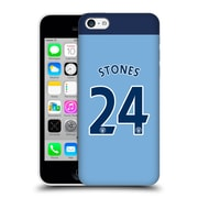 Official Manchester City Man City Fc Player Home Kit 2016/17 Group 1 Stones Hard Back Case For Apple Iphone 5C