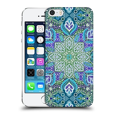 Official Micklyn Le Feuvre Mandala Peacock Summer Hard Back Case For Apple Iphone 5 / 5S / Se