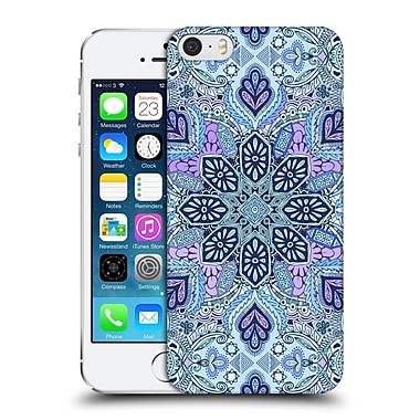 Official Micklyn Le Feuvre Mandala Navy Blue Mint And Purple Hard Back Case For Apple Iphone 5 / 5S / Se